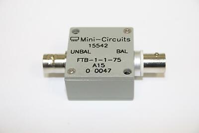 Mini-circuits Ftb-1-1-75 75ohm 0.5-500mhz Coaxial Rf Transformer Brand New