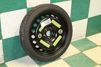 09-16 A4 Compact Spare Tire Wheel Rim 19x4 Temporary Donut Factory OEM Steel