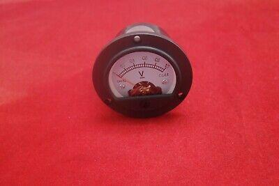 Dc 0-1v Round Analog Voltmeter Analogue Voltage Panel Meter Dia. 66.4mm Dh52