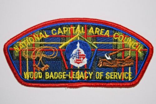 Wood Badge Legacy of Service- National Capital Area Council- CSP