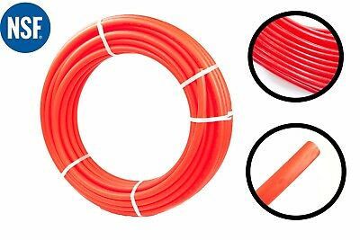 12 X 100ft Pex Tubing Oxygen Barrier Radiant Heating Plumbing Application Red