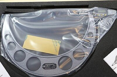 Brown Sharpe Tesa Lcd Digital Micromaster Outside Micrometer 10-11 0.00005