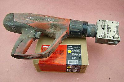 Hilti X-hm Marking Tool Stamp Powder Actuated Gun 1000 .27 Cal. Short Cartridg