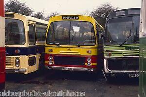 Northern Bus, Anston 203 PCH418L EX PMT & TRENT Bus Photo