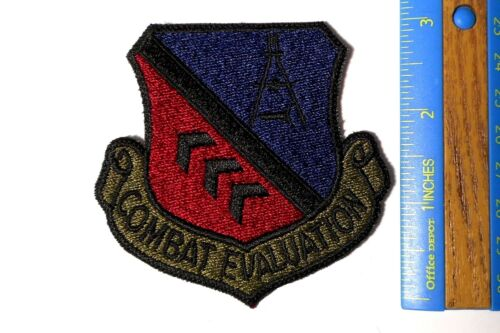 COMBAT EVALUATION Patch USAF Air Force c101