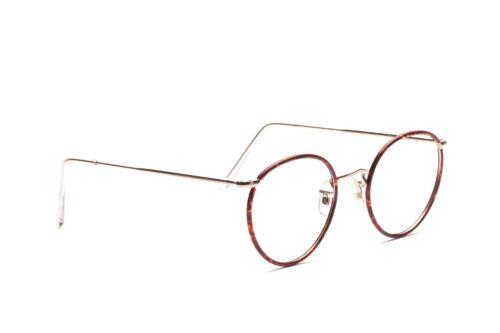 Algha Panto Brille Fassung Herren Silber Windsorrand Made in England 49 - 20 mm
