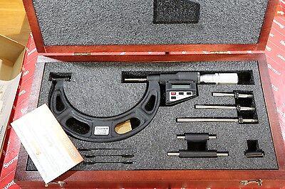 Starrett Digital Outside Micrometer Set 0-3.93 0-100mm 0.00005 0.001mm