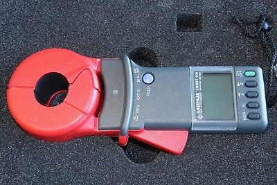 Greenlee Cmgrt-100 Clamp-on Ground Earth Resistance Tester Meter Calibrated Ver.