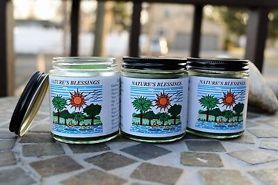 (Pack of 3 or Lot of 6) Best Natural hair pomade by Nature's Blessings 4 oz