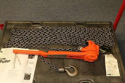 New Cm 640 Series 34 Ton Lever Chain Puller Hoist Come Along Tool 30 Lift