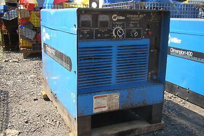 Miller Dimension 400 Cccv Dc Arc Welder 3-phase 902970 Migtigstick