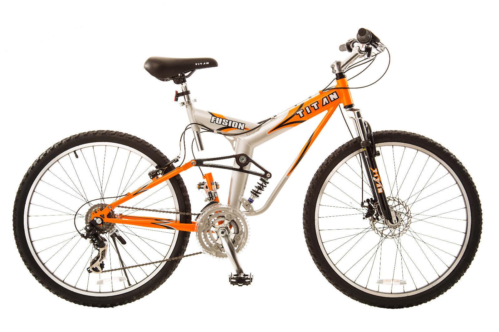 """Titan Bicycles Fusion Pro 26"""" Mountain Bike - 21 speed"""