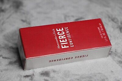 ❗️ Abercrombie & Fitch Fierce CONFIDENCE Cologne EDC 1.7 oz 50 mL for Mens NIB , used for sale  Monterey Park