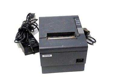 Epson Tm-t88iv Pos Usb Thermal Receipt Printer M129h Wps-180 Power Usb Cords