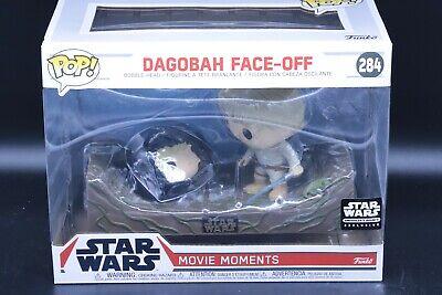Star Wars Funko POP #284 Dagobah Face Off Movie Moments Skywalker