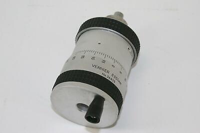Nikon Vernier 0.001mm Metric Micrometer Head