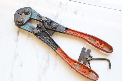 Vintage Nicopress Sleeve Tool 31-qc The National Telephone Supply Company Pliers