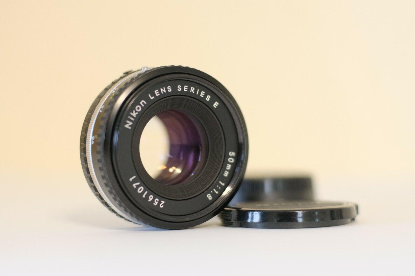 Nikon Nikkor 50mm F/1.8 Series E AIS Manual Focus Lens BEAUTIFUL - $99.00