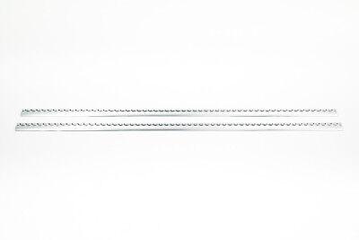 2x Airlineschiene Zurrschiene halbrunde runde Form 1 m Ladungssicherung blank
