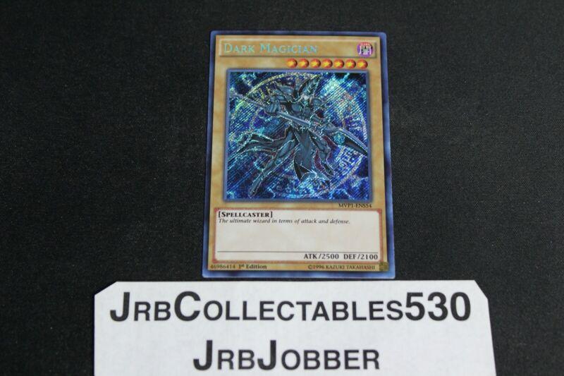 MVP1-ENS54 Secret Rare Card 1st Ed. YuGioh Dark Magician NM