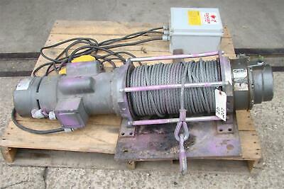 Columbia Winch Hoist 120v Electric Winch Iig5600