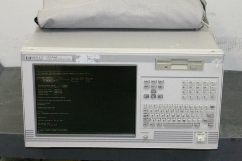 HP 16702A Logic Analysis System + 16750A & 16711A Modules