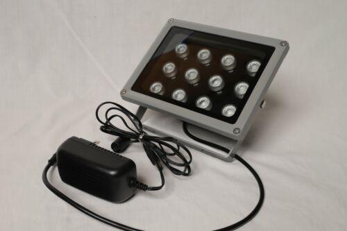 Univivi IR Illuminator,850nm,12 LEDs, Wide Angle IR Illuminator for Night Vision