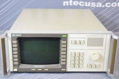 Keysight Agilent 70206a Spectrum Analyzer Display