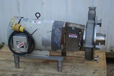 Fristam Centrifugal Pump Stainless Tri-clamp Frp3451-250 W 7.5hp Motor