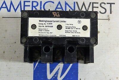Westinghouse Current Limiter El3007r 7amp 600vac El3007r