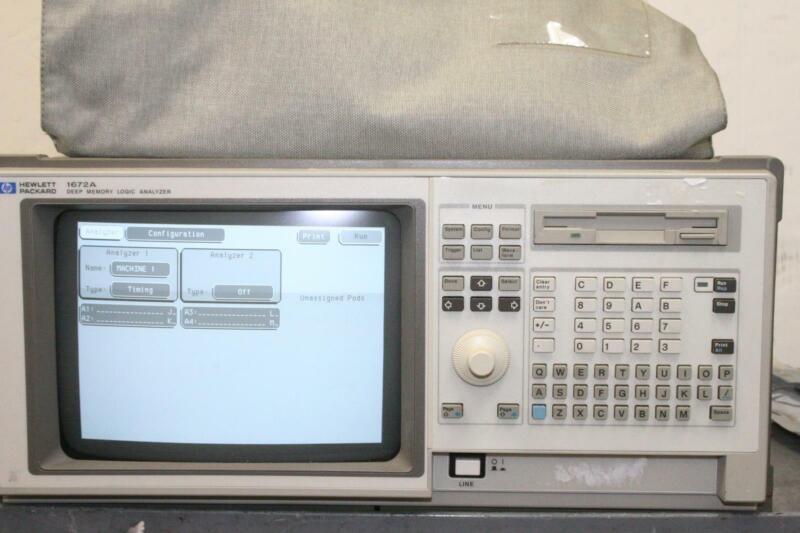 HP 1672A 68-Channel Deep Memory Logic Analyzer