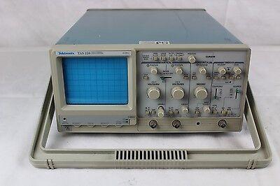Tektronix TAS 220 Two Channel Oscilloscope 20 MHz