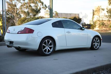 2005 Nissan Skyline Low Km Pearl White Half Leather seats