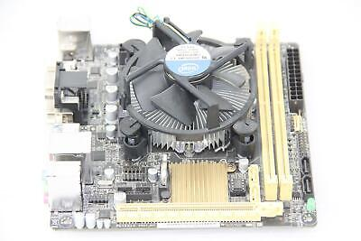 """ASUS H81I-PLUS Mini ITX Motherboard  + Intel i3 3.40GHZ Dual Core CPU """"TESTED"""" for sale  Shipping to India"""