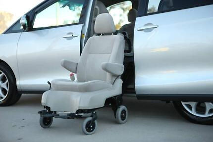 2008 Toyota Estima Disability With Side Lift Up Wheelchair