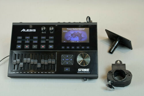 Alesis Strike Performance Drum Module -  Color Display w Mounting Plate & Clamp