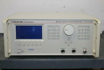 Wavetek Benchmark 1175 Bench Sweep Sys Rf Scalar Analyzer No Ps
