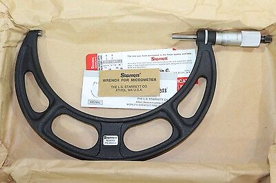 Starrett Outside Micrometer 175-200mm 0.01mm Carbide Faces
