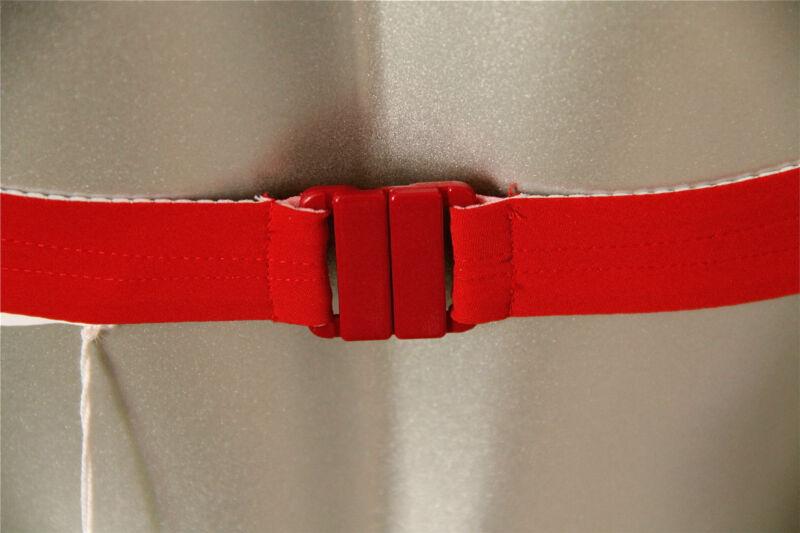 soutien gorge bikini vichy rouge 95B luxe VANNINA VESPERINI neuf étiquette 110€