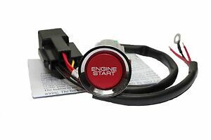 S2000 RED ENGINE START BUTTON KIT - HONDA CIVIC 1993-2005