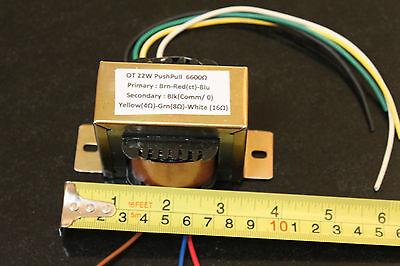 OUTPUT TRANSFORMER 22W 6600 CT Tube Valve DIY EL84 audio
