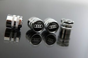 AUDI-WHEEL-VALVE-STEM-CAPS-KITS-FOR-Q5-Q7-QUATTRO-R8-RS4-RS5-RS6-S3-S4-S5-S6-S7