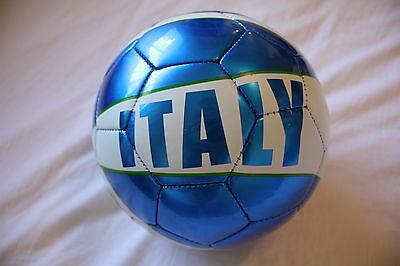 Italia Size 5 Football Soccer Ball World Cup Italy Azzurri Blue Serie A Ita NEW