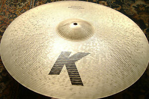 SMOOTH-Zildjian-K-CUSTOM-20-Medium-Ride-EX-COND