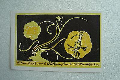 40 Pfennig Notgeld Gemeinde Bokelses (SH/SH) Amtsbezirk Hörnerkirchen 1921(1740)