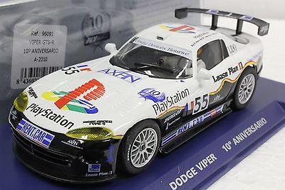 Fly A2010 Playstation Le Mans 10th Anniversary Viper Gts-r 1/32 Slot Car