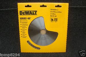 DEWALT-DT4223-216MM-X-30MM-BORE-48T-TCT-CIRCULAR-MITRE-SAW-BLADE