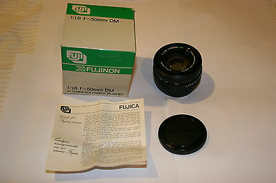 Original Fuji Fujifilm Dm 50mm F1.6 X- Fujinon Lens Fujinon X Series In Box