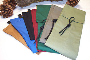 Handmade custom rod socks over 50 in and up flap tie color for Fishing rod socks