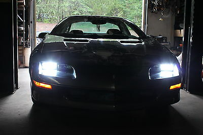 93-97 Camaro Hid Head Light Conversion Kit W/ Housings Z28 Ss Rs